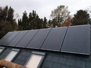 2kwp solar PV Solarwatt install in Meath