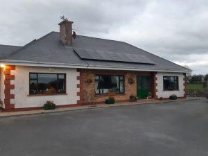 2.4kwp solar PV Solarwatt install in Tipperary