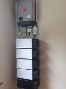 9.6kwp Solarwatt battery storage system installed