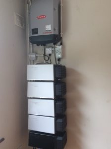 9.6kwp Solarwatt battery storage system installed