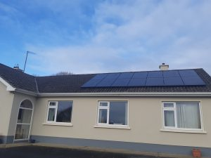 4kw Solar PV installation in Co. Monaghan