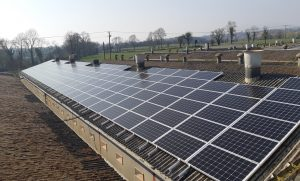 130kwp solar PV system, Pig Producer, Co. Wexford
