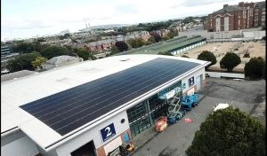 100kwp solar PV system, RDS Dublin
