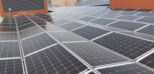 100kwp solar PV system, Nissan HQ, Co. Dublin