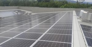 150kwp solar PV install,  Supervalu, Kenmare, Co. Kerry